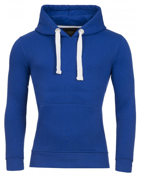 Sweat uni homme bleu coloré fashion