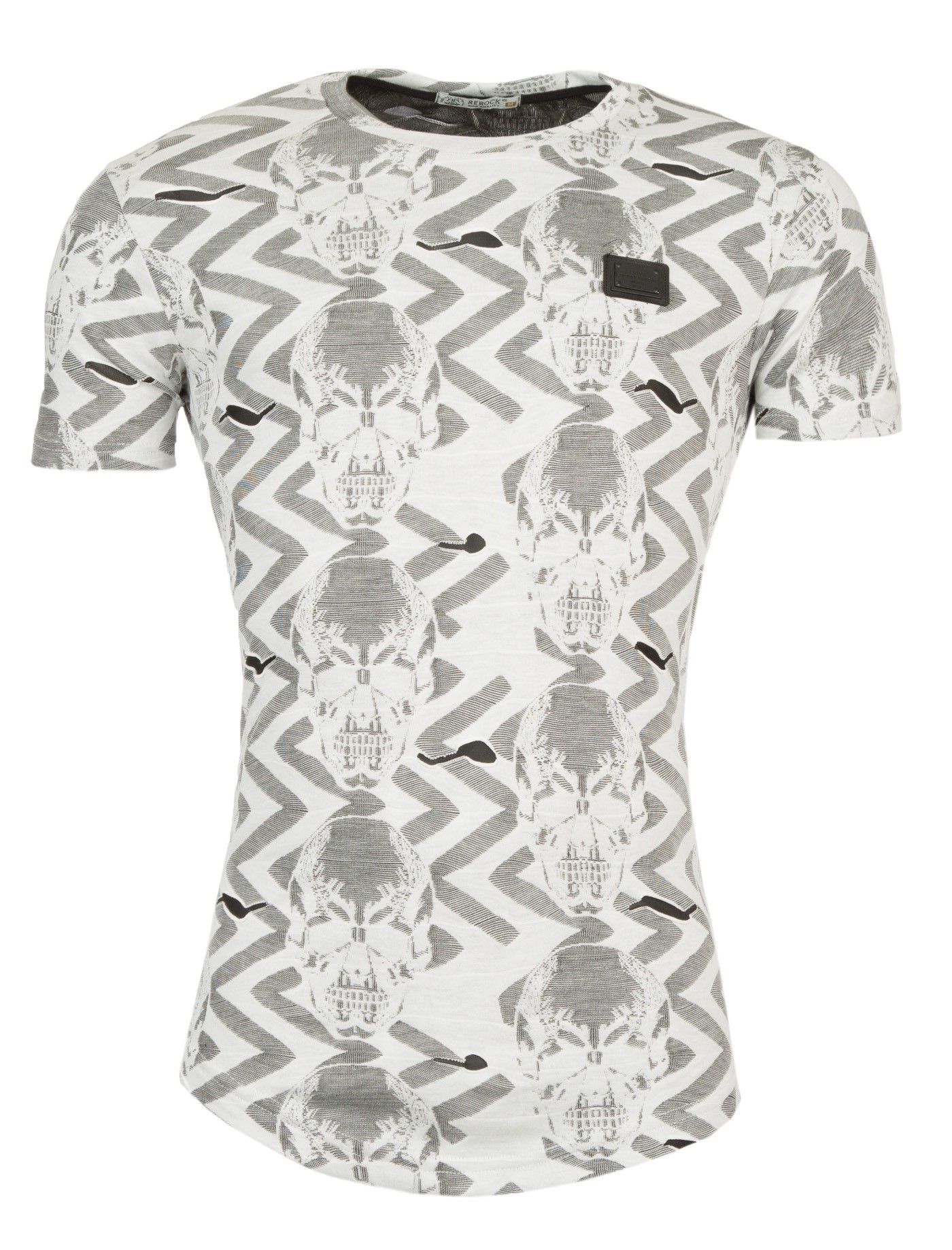 ffa8152259672 Tee shirt homme col rond pas cher et stylé - Best Style