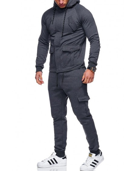 Ensemble jogging homme anthracite original stylé